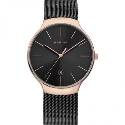 Bering Armbanduhr Unisex Classic Edelstahl Roségold 13338-262