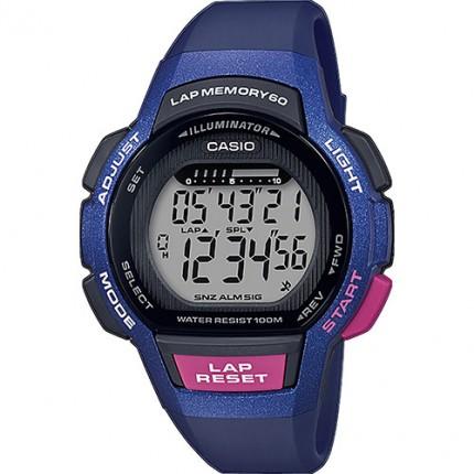 Casio Armbanduhr Collection Blau Pink LWS-1000H-2AVEF