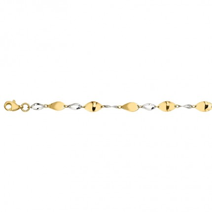CEM Armband 333/-Gold Bicolor BAB306609