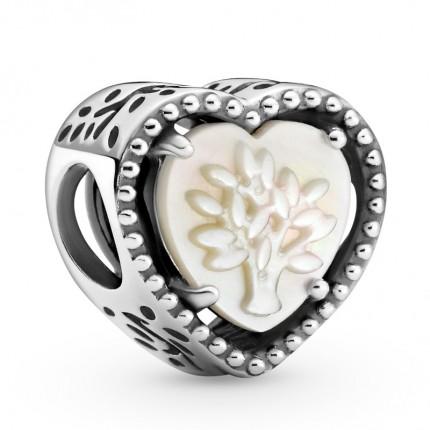 PANDORA Silberelement Openwork Heart & Family Tree 799413C01