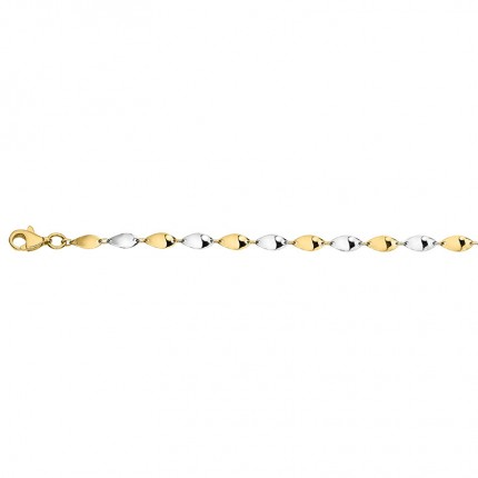 CEM Armband 333/-Gold Bicolor BAB306606