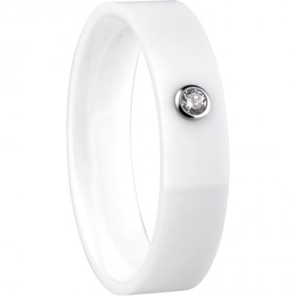 Bering Innenring Ceramic Weiß Zirkonia Breit 553-57-X2