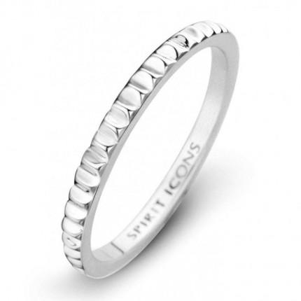 SPIRIT ICONS Ring Peak Silber 53471