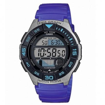 Casio Armbanduhr Collection Mondphase Blau WS-1100H-2AVEF