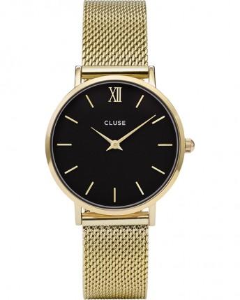 CLUSE Armbanduhr Minuit Mesh Gold CW0101203017