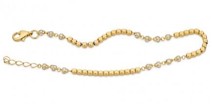 CEM Armband 333/- Gold Zirkonia G3-00335B