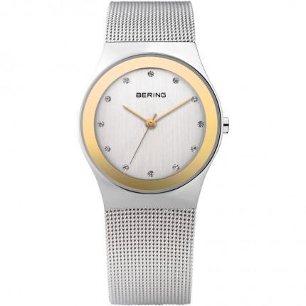 Bering Damenuhr Classic Edelstahl Gold 12927-010