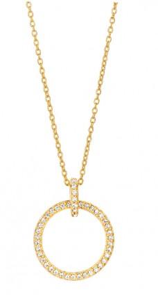 SPIRIT ICONS Collier Trend Silber Vergoldet Zirkonia 10012-45
