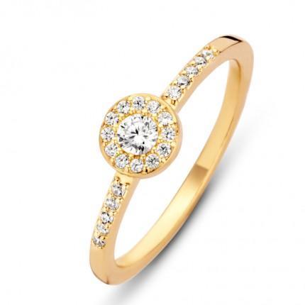 SPIRIT ICONS Ring Luxury Silber Vergoldet 53482