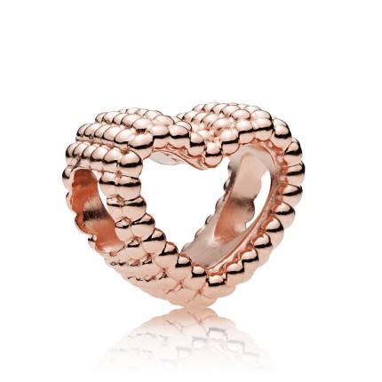 PANDORA ROSE Element Beaded Heart 787516