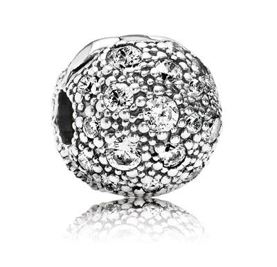 PANDORA Silberelement Himmels-Sterne 791286 CZ