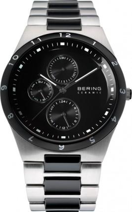 Bering Herrenuhr Ceramic Silber 32339-742