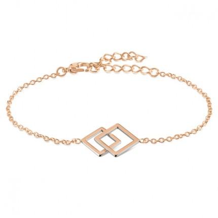 Boccia Armband Titan Roségold 03021-02