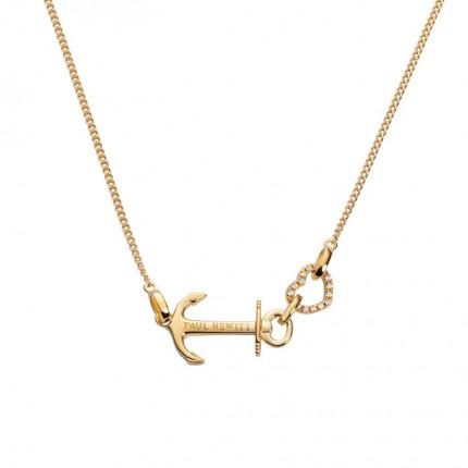 Paul Hewitt ANCHOR LOVE Halskette Silber Gold PH003118