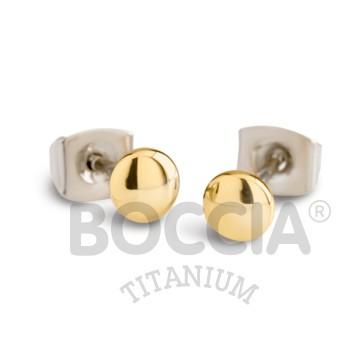 Boccia Ohrschmuck Titan Gold 05013-02
