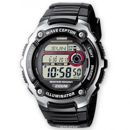 Casio Armbanduhr Funkuhr Digital WV-200E-1AVEF