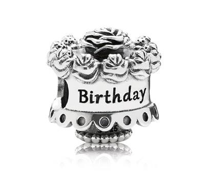 PANDORA Silberelement Happy Birthday 791289