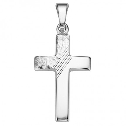 CEM Anhänger Kreuz Silber BAH905051