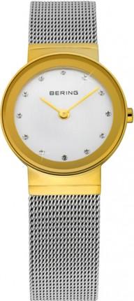 Bering Damenuhr Classic Gold 10126-001