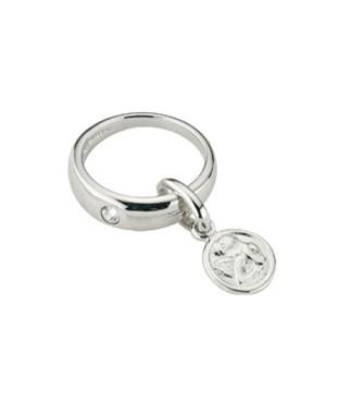 CEM Anhänger Silber Taufring Zirkonia BAH 900934