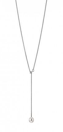 ADRIANA Y-Collier Silber Rhodiniert Süßwasserperle Tropfen R93
