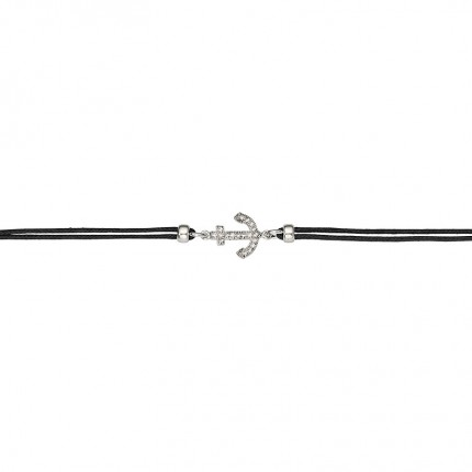 CEM Armband Silber Cotton Anker BAS96302/20