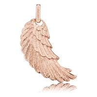Engelsrufer Flügel Silber Roségold Plated Mittel ERW-MR
