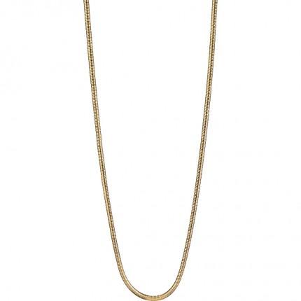 Bering Kette Edelstahl Gold Schlange 424-20-X0