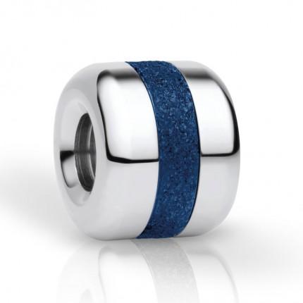 Bering Charm Edelstahl Sparkling Blau Believe-3