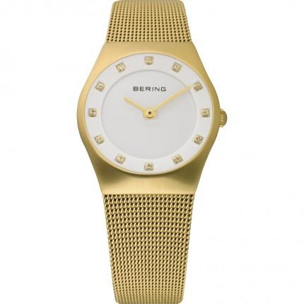 Bering Damenuhr Classic Gold 12927-334