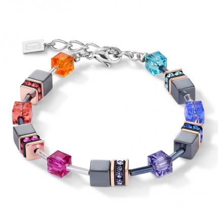 COEUR DE LION Armband Geo Cube Multicolor 4015/30-1500
