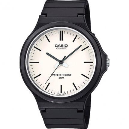 Casio Armbanduhr Collection Weiß Analog MW-240-7EVEF
