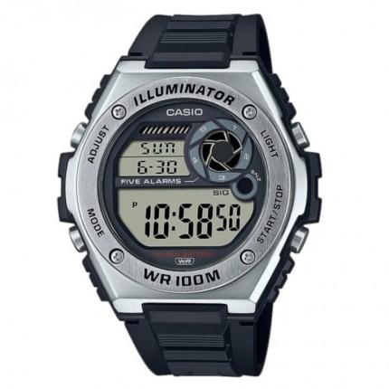 Casio Armbanduhr Collection Schwarz MWD-1000H-1AVEF
