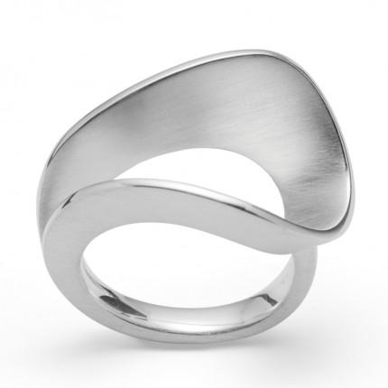 Bastian Inverun Ring 925/- Silber Rhodiniert 34001
