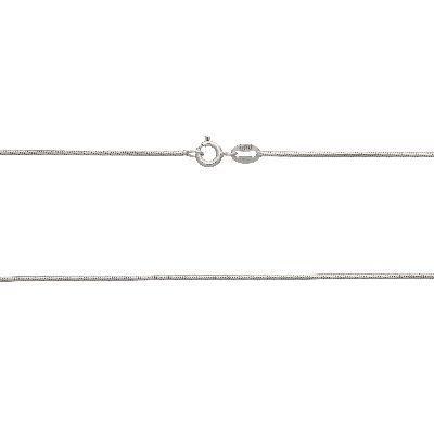 DUR Schlangenkette Silber Rhodiniert K2334