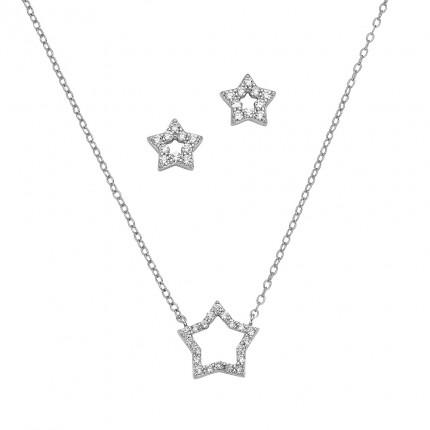 CEM Schmuckset Silber Stern BGT906206
