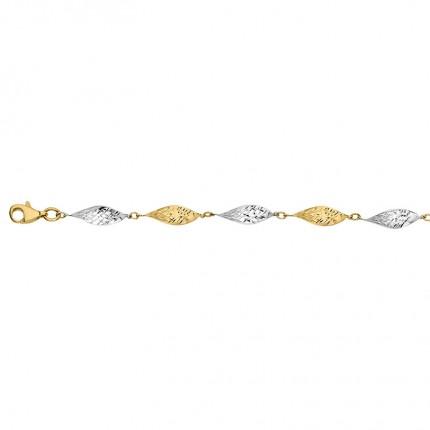 CEM Armband 333/-Gold Bicolor BAB306608