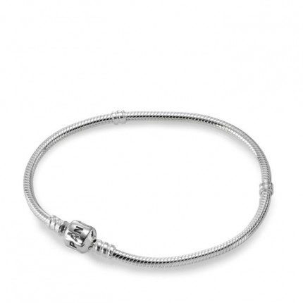 PANDORA 925/- Silberarmband mit PANDORA-Verschluss 590702HV