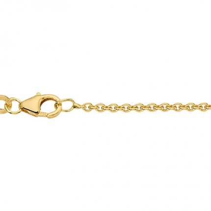 CEM Collierkette 585/- Gold Rundanker BRA550/50