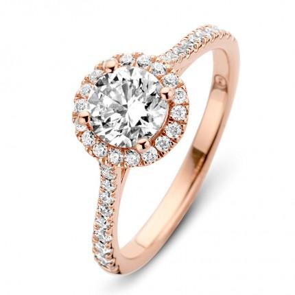 SPIRIT ICONS Ring Romance Silber Rosévergoldet 53504