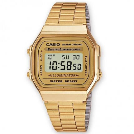 Casio Armbanduhr Vintage Iconic Collection Gold A168WG-9EF