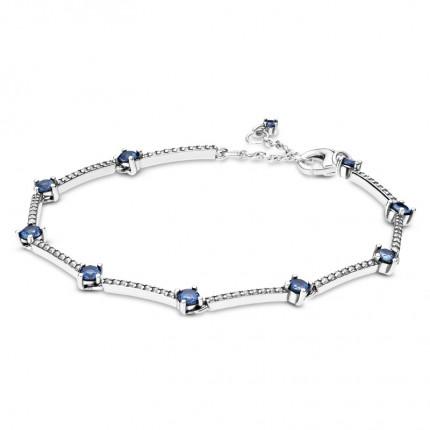 PANDORA Armband Silber Sparkling Pavé Bars 599217C01