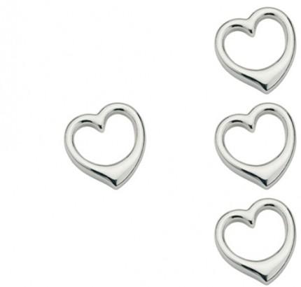 CEM Anhänger Herz Silber BAH 900850