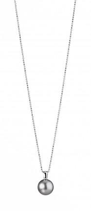 ADRIANA Halskette Silber Rhodiniert Tahitiperle PR4-49