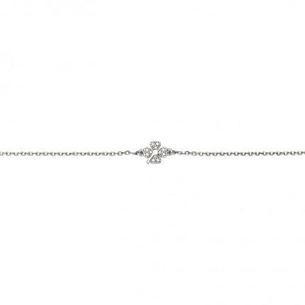 CEM Armband Silber Kleeblatt BAS96308/18