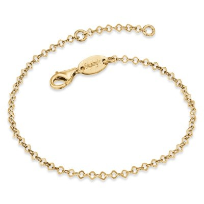 Engelsrufer Armband Silber Gold plated Lace ERB-Lillace-G
