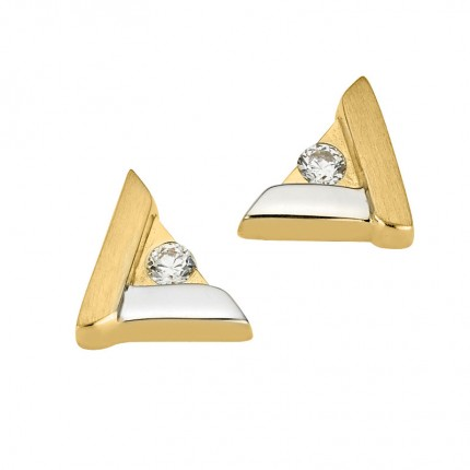 CEM Ohrschmuck 333/- Gold Zirkonia BOS305310