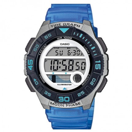Casio Armbanduhr Collection Blau LWS-1100H-2AVEF