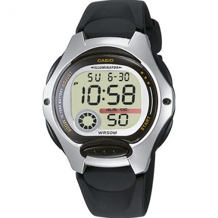 Casio Armbanduhr Collection Schwarz LW-200-1AVEF