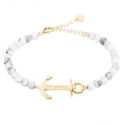 Paul Hewitt ANCHOR SPIRIT Armband Gold Marble PH-ABB-G-M